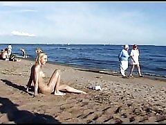 Trẻ nudist beach thiếu niên