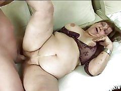 Chất béo granny được fucked