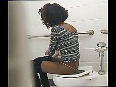 Skinny đen ass - nhà vệ sinh ẩn cam
